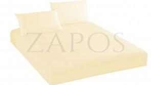 Husa de protectie cu elastic pentru saltea BUMBAC - Crem