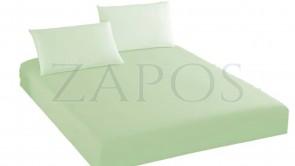 Husa de protectie cu elastic pentru saltea BUMBAC - Verde pal